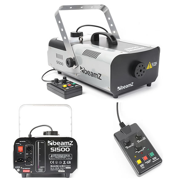 S1500 Smoke Machine DMX with Timer control