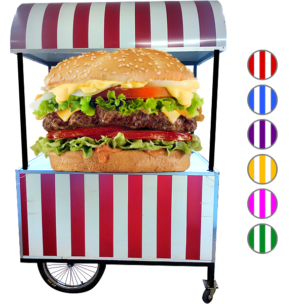 hamburger-cart-hire-for-party-events