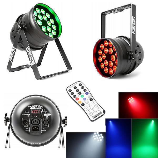 BPP210 LED Par 64 18x 12W 4-in-1 LEDs