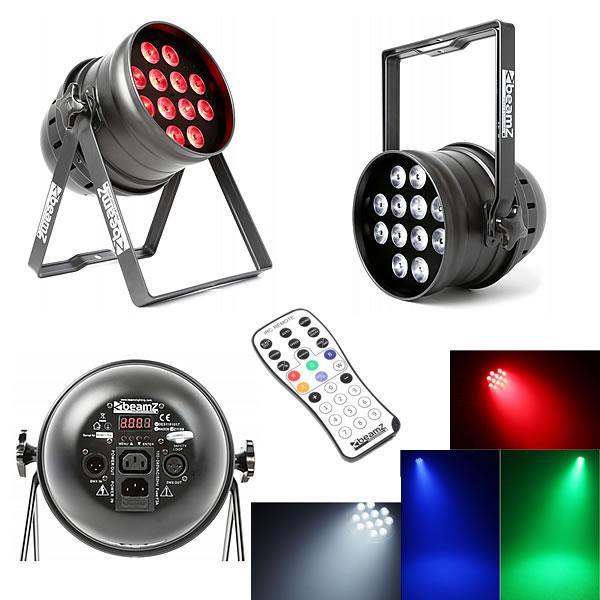 BPP220 LED Par 64 12x 12W 4-in-1 LEDs