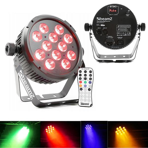 BT310 FlatPAR 12x 8W 4-in-1 LEDs