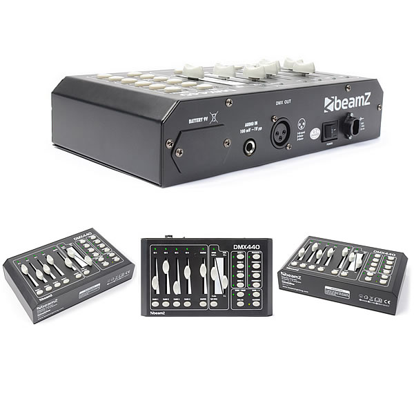DMX440 Controller 4-Channel + 4 Programs