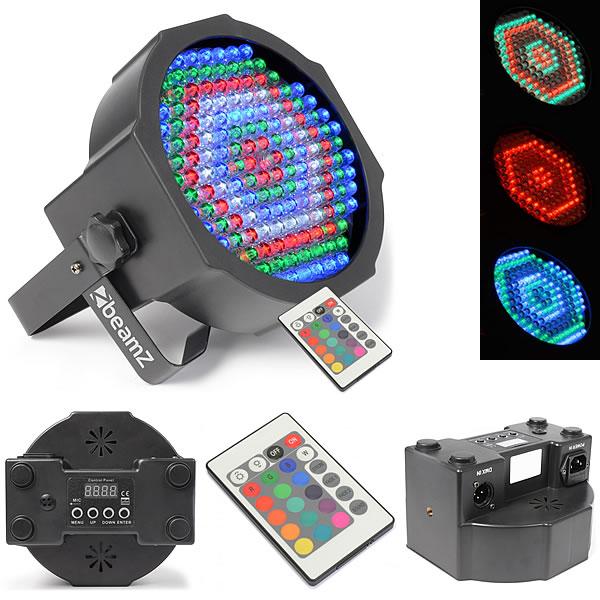 FlatPAR 154x 10mm RGBW LEDs