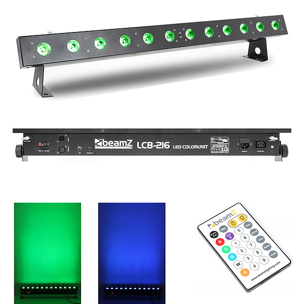 LCB216 LED Bar 12x 18W 6-in-1 LEDs