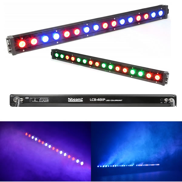 LCB48IP LED Bar 16x 3W 3-in-1 LEDs