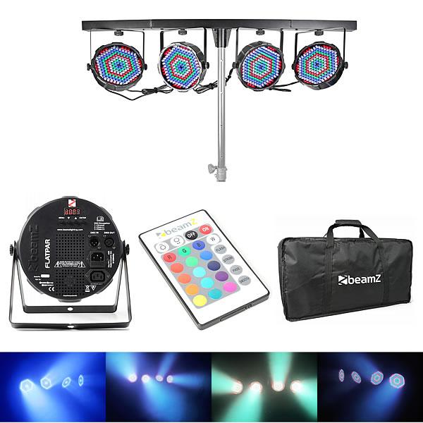 LED Parbar 4-Way Kit 186x RGBW LEDs