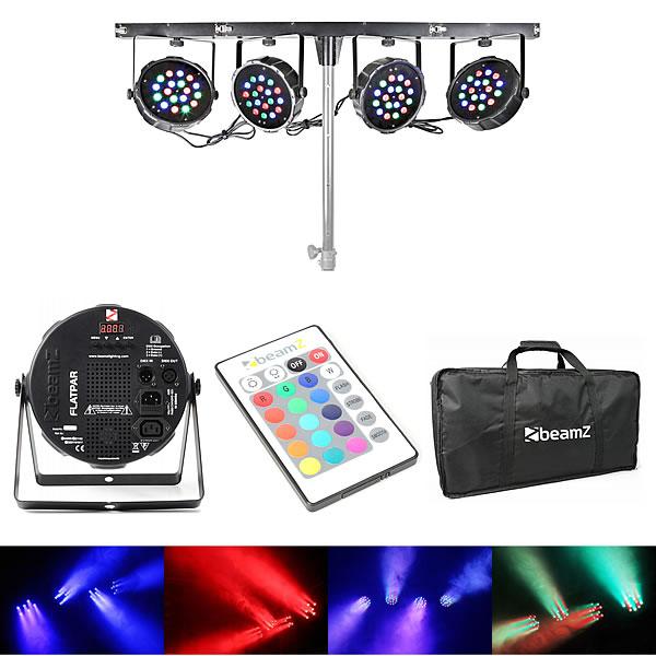 LED Parbar 4-Way Kit 18x 1W RGB LEDs