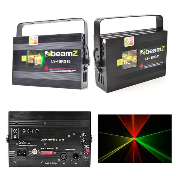 LS-FBRG15 Fat Beam Red-Green DMX