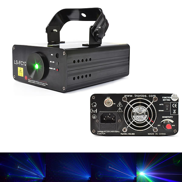 LS-FC12 Laser Red Green Blue Gobo