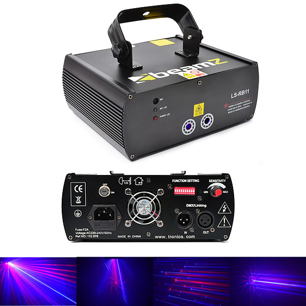 LS-RB11 Laser Red Blue Gobo DMX