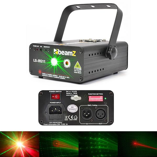 LS-RG11 Laser Red Green Gobo DMX