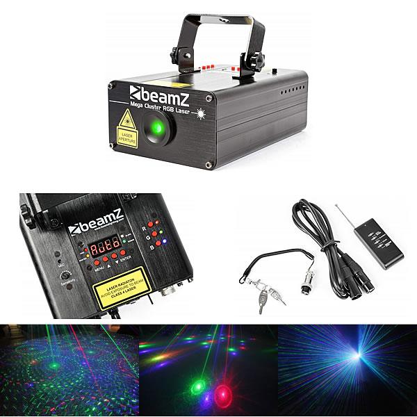 Mega Cluster RGB Laser