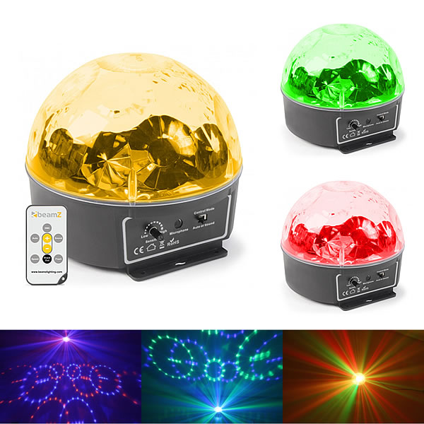 Mini Star Ball 6x 3W RGBAWP LEDs