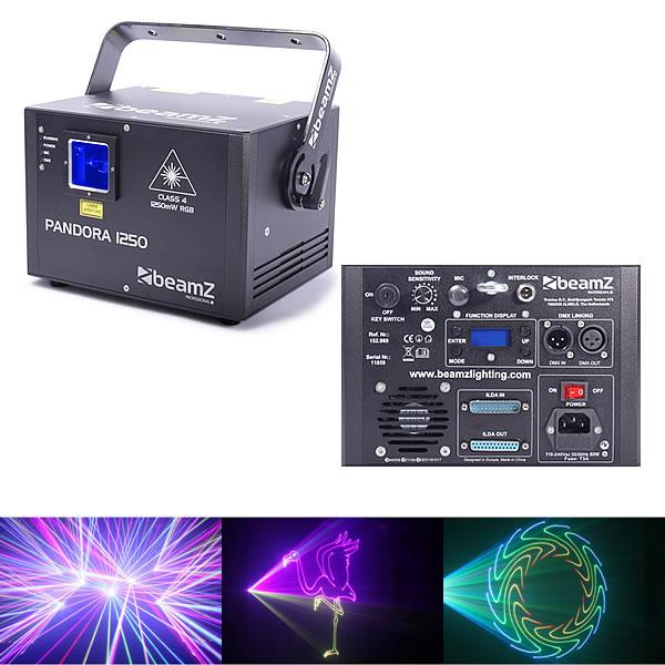 Pandora 1250 TTL Laser RGB 30kpps