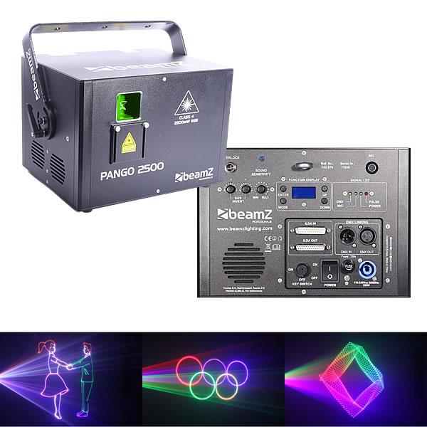 Pango 2500 Analog laser RGB 40kpps