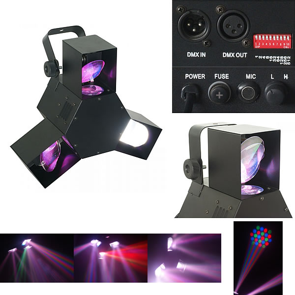 Triple Flex Centre Pro LED