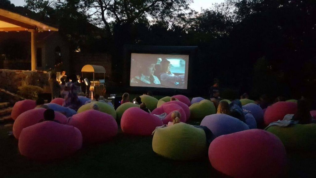Outdoor Movie Night Party Theme Joy Jukes