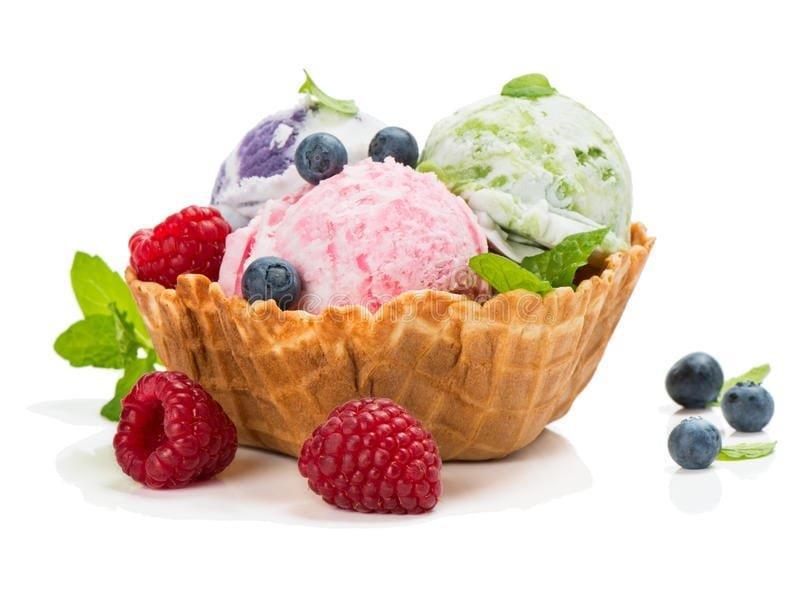ice cream dipping cart